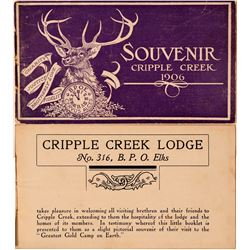 Souvenir Booklet of Cripple Creek Photos, Real photos of Mines, Etc.   (110342)