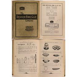 Denver Fire Clay Company Catalog No. 12  (115494)