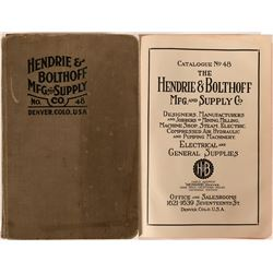 Hendrie & Bolthoff Mfg. & Supply Co., Denver, Colorado - Catalog No. 48 published in 1917  (116284)