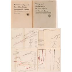 U.S.G.S. Reports on Colorado Mining  Professional Papers 235 and 359  (2) 1953, 1963  (116281)