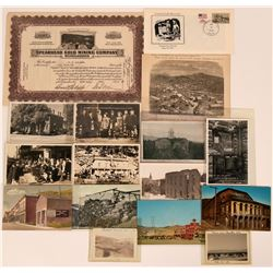 Nevada Mining group post cards  (115190)