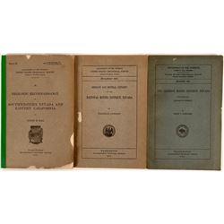 U.S.G.S. Nevada Mining Reports (Part 3) (3) 1907, 1915, 1923  (116276)