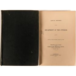 20th Annual Report of the U.S.G.S. Part III, Precious Metal Mining Districts -1900 for Oregon, Idaho