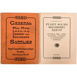 Puget Sound Machinery Depot,  Seattle, Washington Catalogue No. 10 - published 1917  (116283)