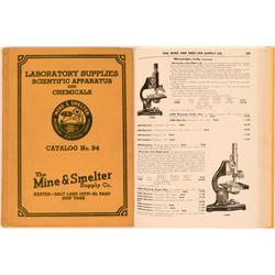The Mine & Smelter Supply Company Catalog No. 94  (115498)