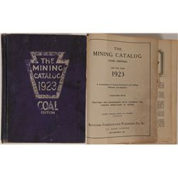 The Mining Catalog 1923: Coal Edition  (115490)