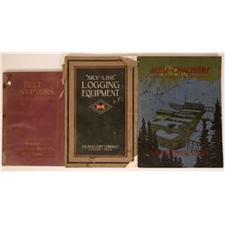 Three Different Mining Equipment Catalogs  (115501)