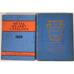Two Metal-Quarry Mining Catalogs  (115502)