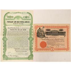 Alaska Mining Stocks  (116946)