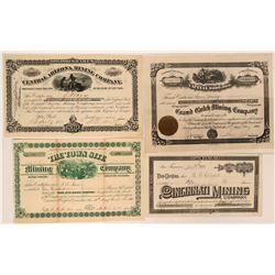Four Different Arizona Mining Stocks  (116955)