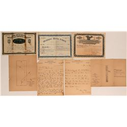Arizona Mining Stocks & Ephemera  (116957)