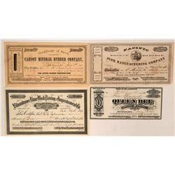 California Mining & Other Stocks incl. Bodie  (116974)