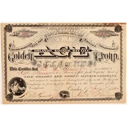 Golden Age Group Mining Company Stock Certificate  (106939)