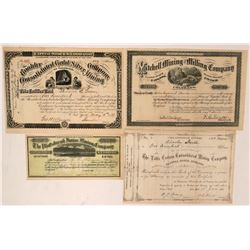 Colorado Mining Stock Group (Boulder, Leadville)  (116986)