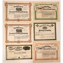 Colorado Mining & Railroad Stocks  (116984)