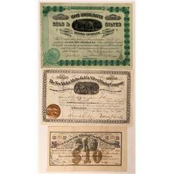 Four Different Idaho Mining Stocks  (116953)