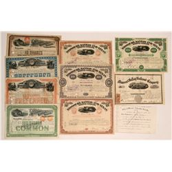 Missouri, Kansas and Texas Railway Company Stocks + Missouri Valley Railroad Co. (2)  (116961)