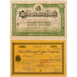 Two Miscellaneous Mining Stocks: Montana & Nova Scotia  (116124)