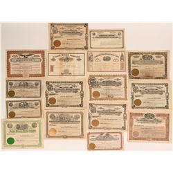 16 Nevada Mining Stocks incl. 1860s  (116971)