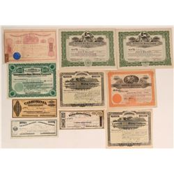 10 Nevada Mining Stocks, Various Locations incl. Comstock & Aurora  (116968)