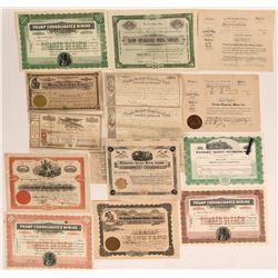 Nevada Mining Stocks & Bond Plus One Early California (116966)