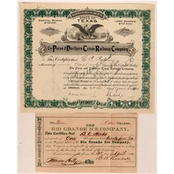 Texas Non-Mining Stocks  (116960)