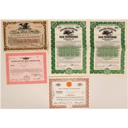 Collection of Airline certificates  (115866)