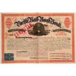 Western Pacific Railroad Bond  (114888)