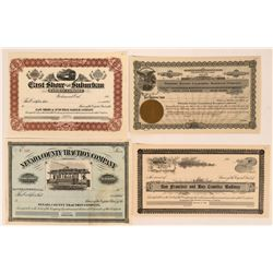 Calif. Railroad Stocks  (114901)