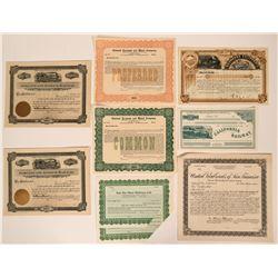 California Railway Stocks  (114903)