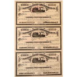 California Street Cable Railroad Co.  (114850)