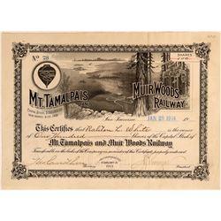 Mt. Tamalpais and Muir Woods Railway.  (114883)