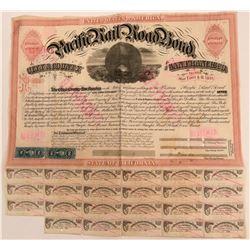 Western Pacific Railroad Bond  (115808)