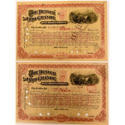 The Denver and Rio Grande Railroad Co  (114922)