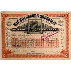 The Rio Grande Southern Railroad Co.  (114862)
