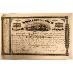 Peoria & Bureau Valley Railroad Co  (115814)