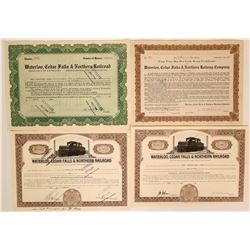 Waterloo, Cedar Falls & Northern Railway Company.   (114673)