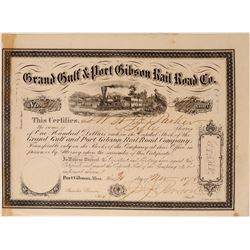 Grand Gulf & Port Gibson Rail Road Co  (114512)