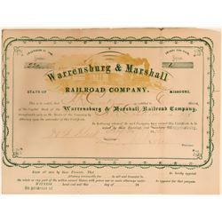Warrensburg & Marshall Railroad Co  (114669)