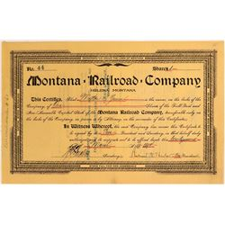 Montana Railroad Co.  (114886)