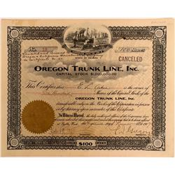 Oregon Trunk Line, Inc  (114861)