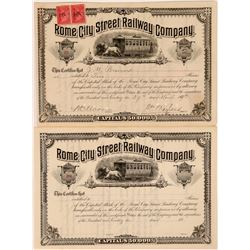 Rome City Street Railway Co.  (114539)