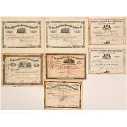 Pre-1900 Pennsylvania Rr stock  (115860)