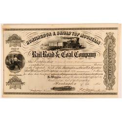 Huntingdon & Broad Top Mountain Rail Road & Coal Co.  (109982)