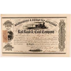 Huntingdon & Broad Top Mountain Rail Road & Coal Co.  (109983)