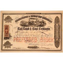 Huntingdon & Broad Top Mountain Rail Road & Coal Co.  (109987)
