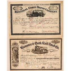 Pennsylvania and Missouri RR stock  (114464)