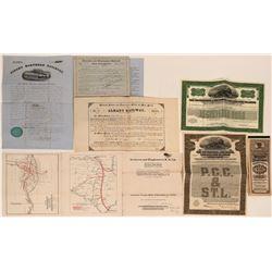 Pennsylvania Railroad Bonds  (116936)