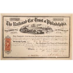The Railroad Car Trust of Philadelphia  (114633)
