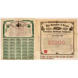 Texas Railroad Bonds  (116939)